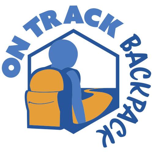 On Track Backpack Logo